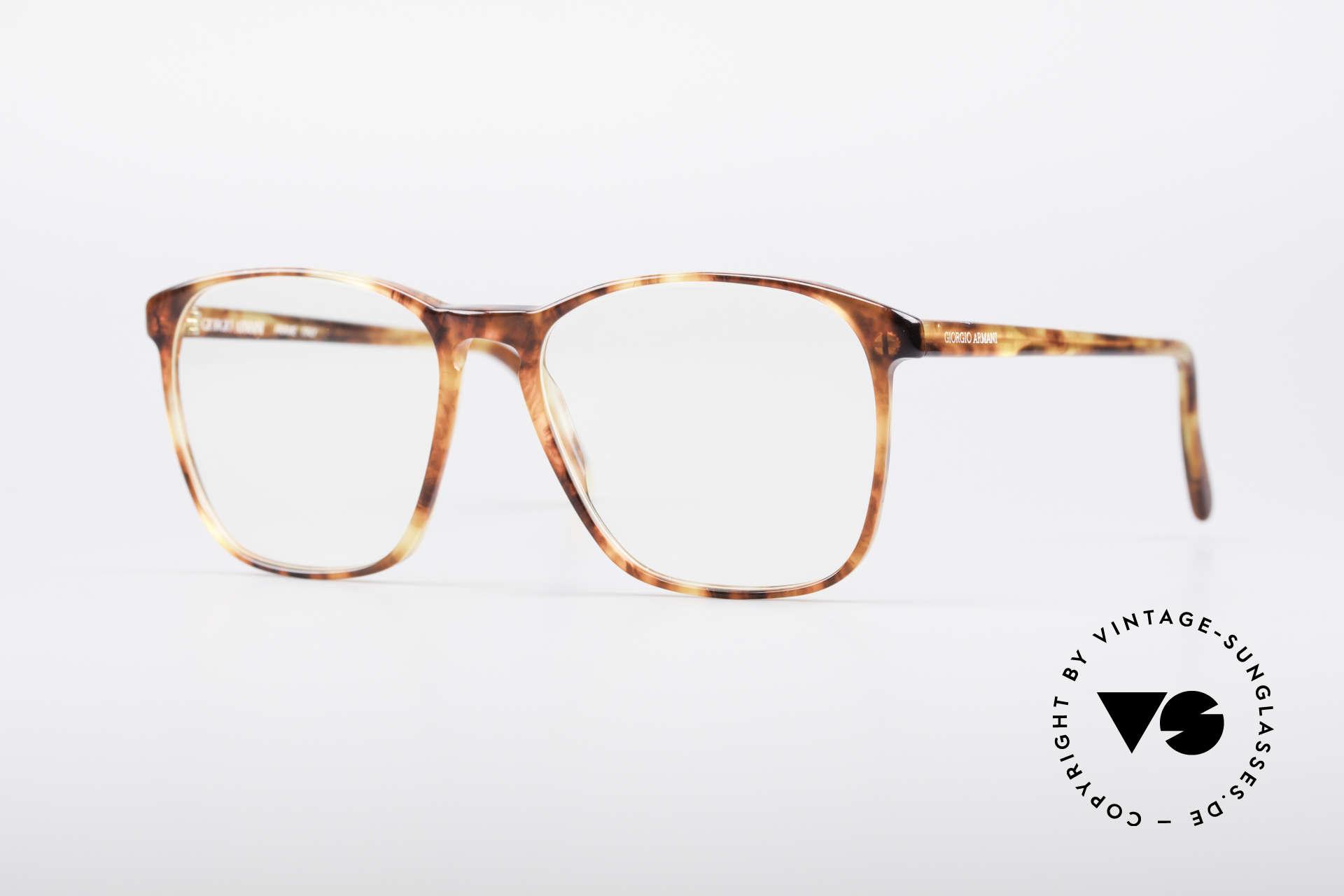 Giorgio Armani 328 True Vintage Designer Glasses, true vintage eyeglass-frame by GIORGIO ARMANI, Made for Men