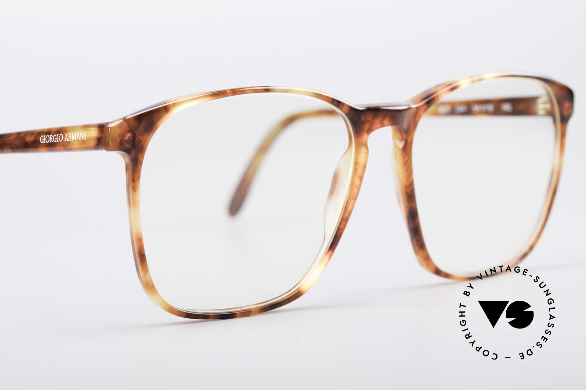 Giorgio Armani 328 True Vintage Designer Glasses, unworn (like all our vintage Giorgio Armani specs), Made for Men