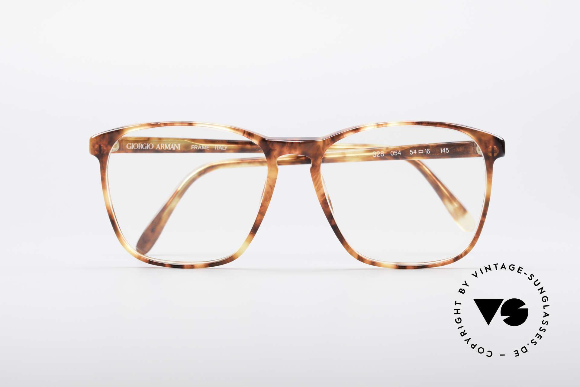 Giorgio Armani 328 True Vintage Designer Glasses, NO RETRO frame, but a rare 30 years old ORIGINAL, Made for Men