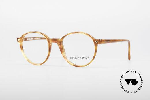 Giorgio Armani 325 Panto 90's Eyeglasses Details
