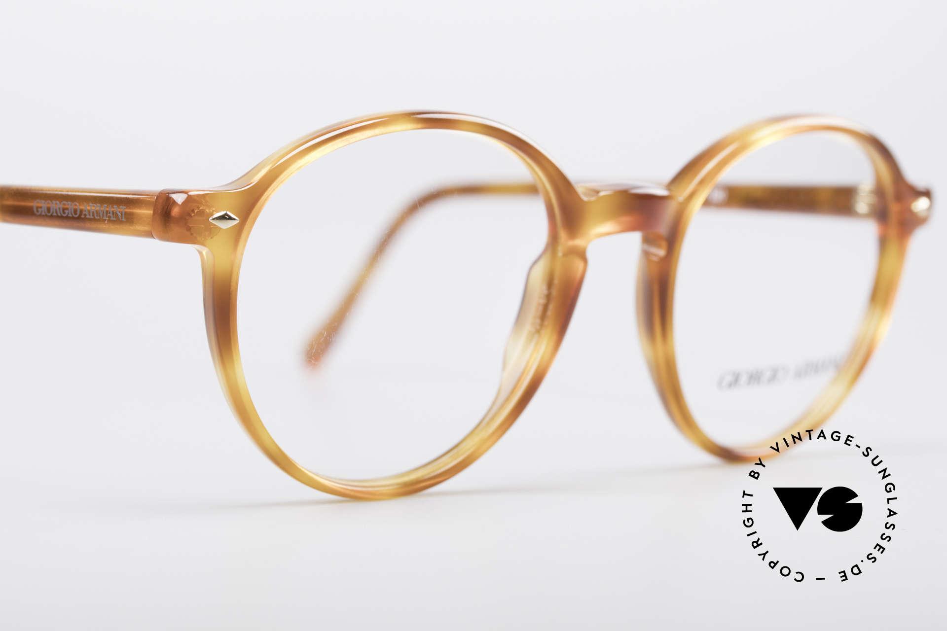 Giorgio Armani 325 Panto 90's Eyeglasses, NO retro frame, but an unique 25 years old ORIGINAL!, Made for Men