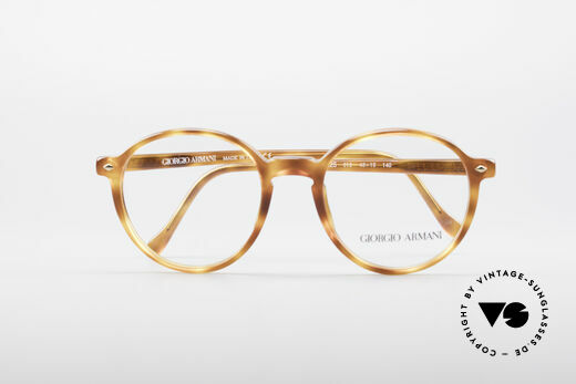 Giorgio Armani 325 Panto 90's Eyeglasses, DEMO lenses can be replaced with any kind of lenses, Made for Men