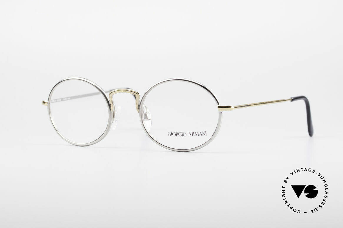 Giorgio Armani 156 Oval Vintage Eyeglasses, vintage designer eyeglasses by GIORGIO ARMANI, Made for Men and Women