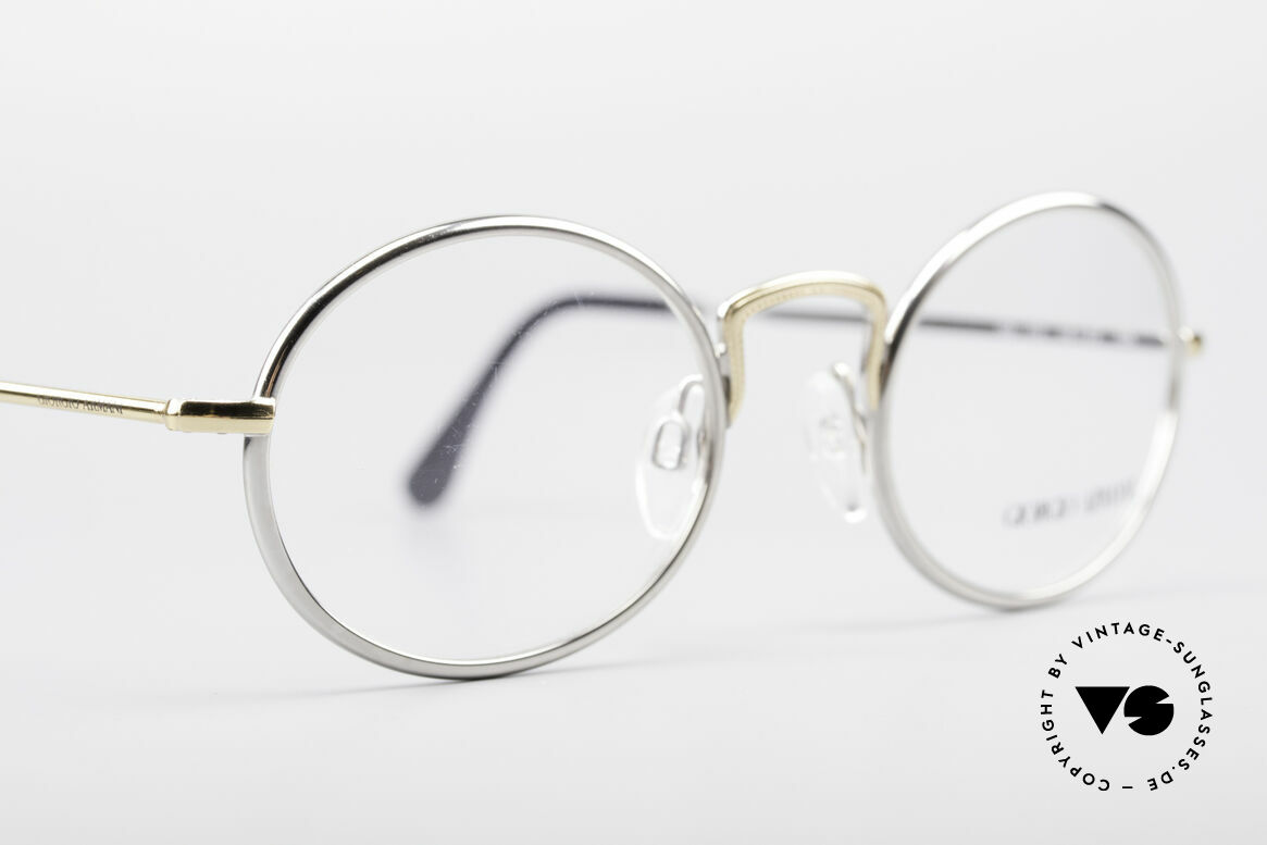 Giorgio Armani 156 Oval Vintage Eyeglasses, NO RETRO EYEWEAR, but a 30 years old Original, Made for Men and Women