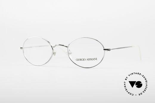 Giorgio Armani 1094 Small Oval Eyeglasses Details