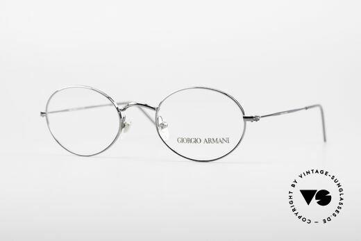 Giorgio Armani 1094 Small Oval Glasses Details