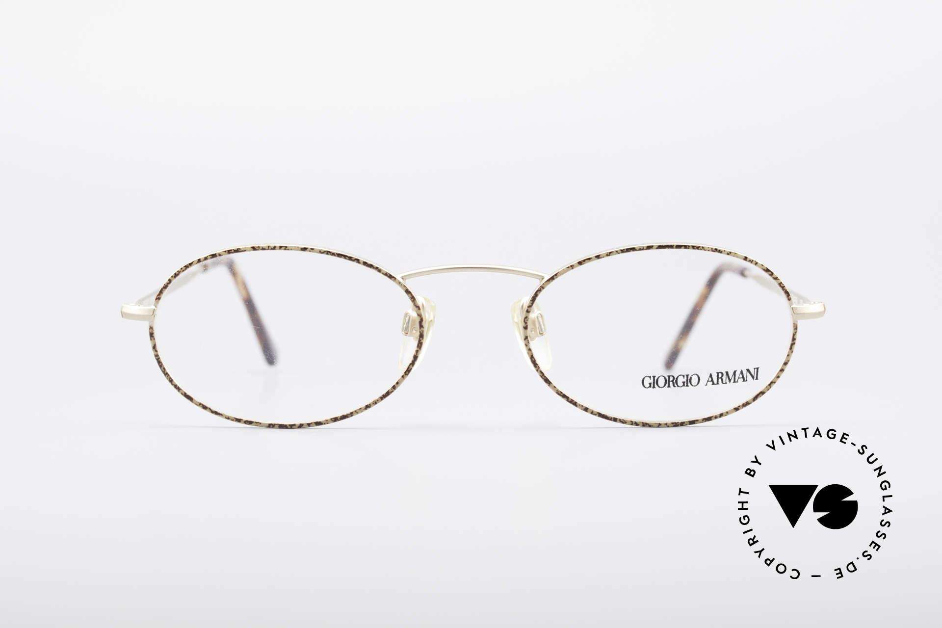 Glasses Giorgio Armani 125 Oval Vintage Frame | Vintage Sunglasses