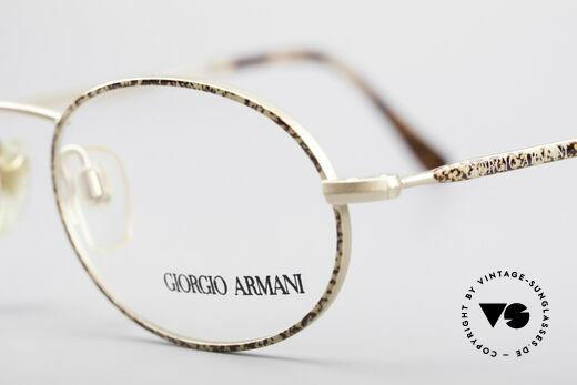 Giorgio Armani 125 Oval Vintage Frame