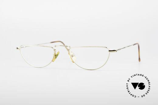 Giorgio Armani 254 80's Reading Glasses Details