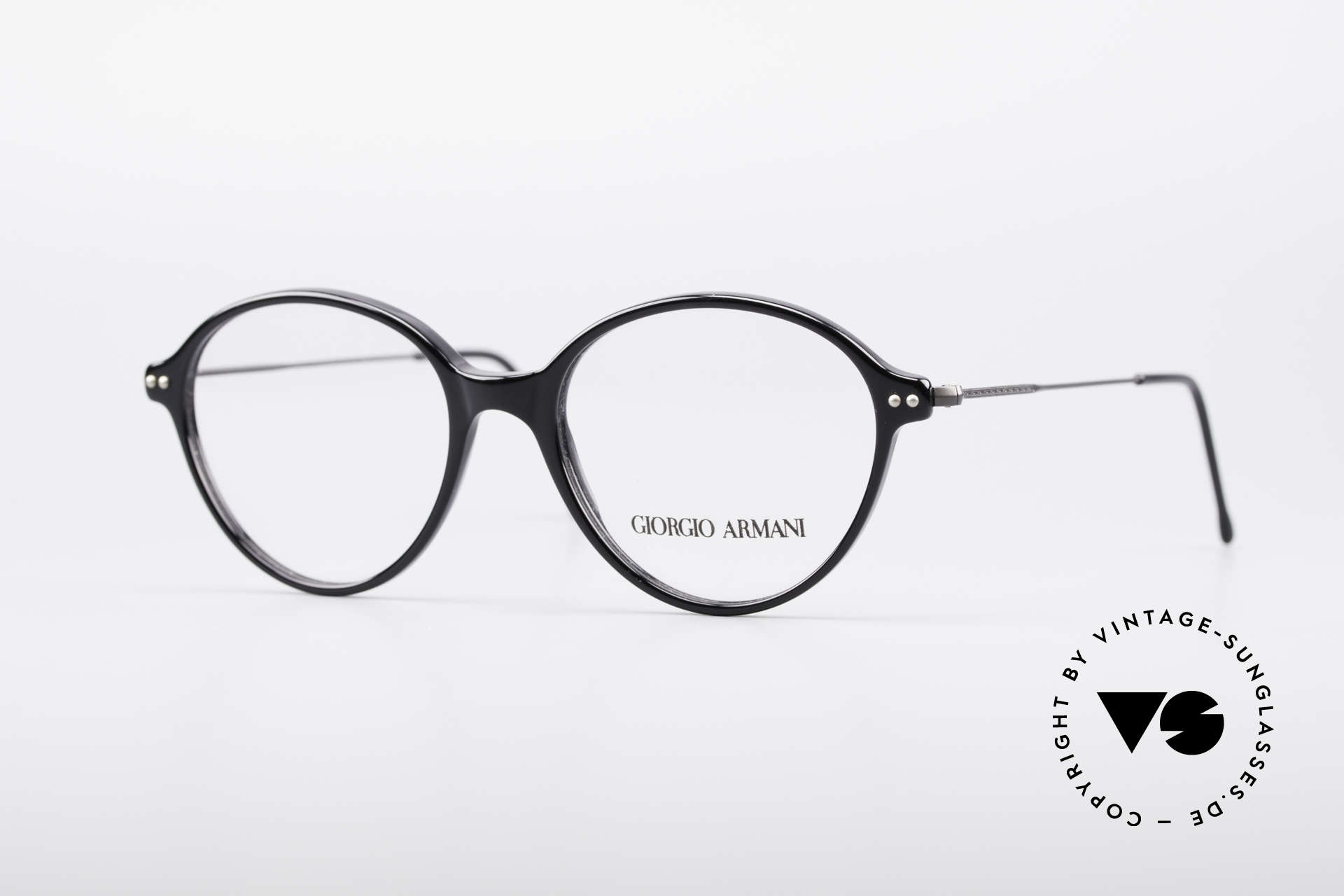 Giorgio Armani 374 90's Unisex Vintage Glasses, Giorgio Armani, Mod. 374, col. 181, Gr. 49-16, 140, Made for Men and Women