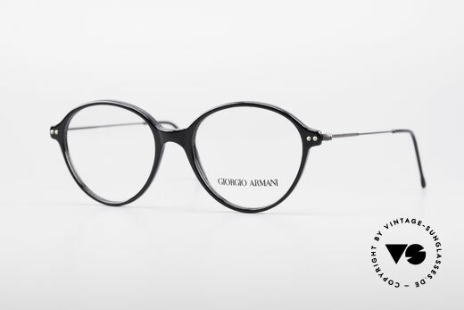 Giorgio Armani 374 90's Unisex Vintage Glasses Details