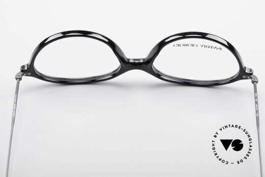 Giorgio Armani 374 90's Unisex Vintage Glasses, the demo lenses can be replaced with optical lenses, Made for Men and Women