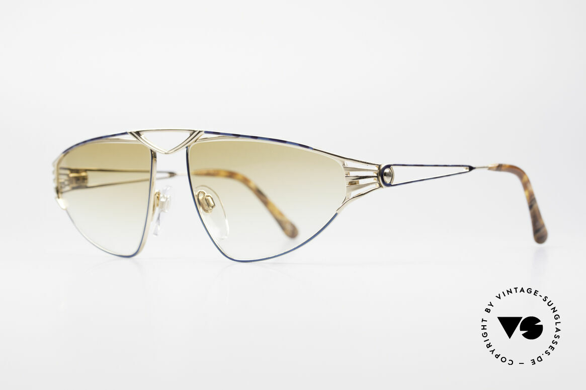 St. Moritz 4410 90's Luxury Sunglasses, 90's limited-lot production (every frame is numbered), Made for Women
