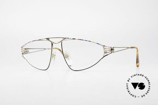 St. Moritz 4410 90's Luxury Eyeglasses Details