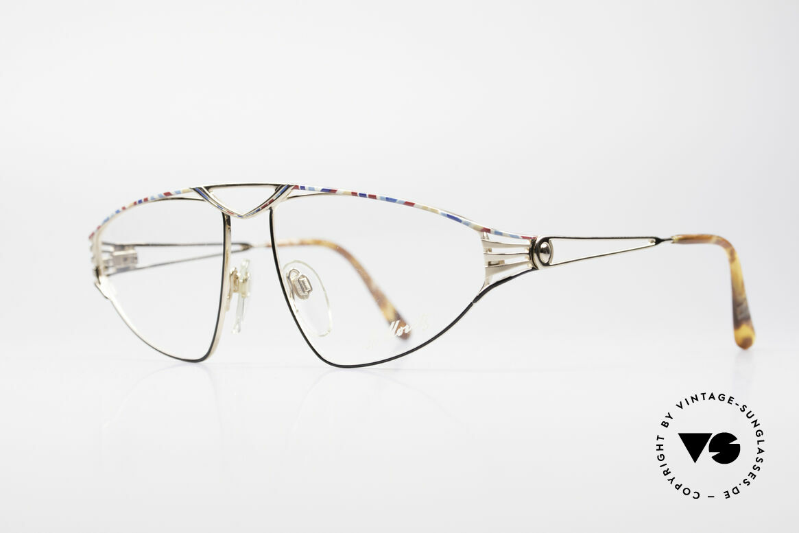 St. Moritz 4410 90's Luxury Eyeglasses, 1990's limited-lot production (every frame is numbered), Made for Women