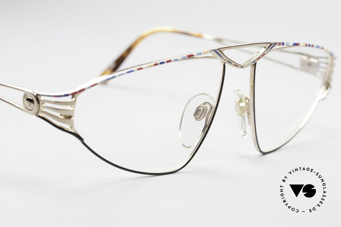 St. Moritz 4410 90's Luxury Eyeglasses, unworn, NOS (like all our luxury St. Moritz eyeglasses), Made for Women