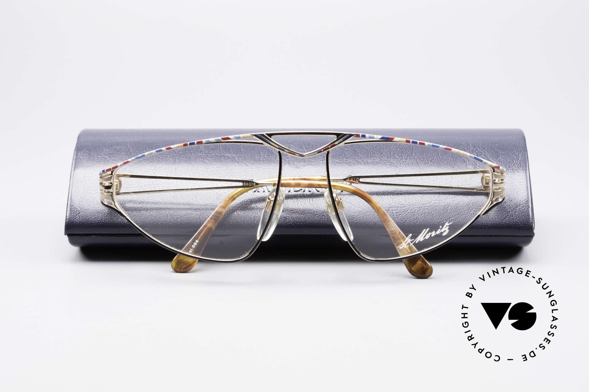 St. Moritz 4410 90's Luxury Eyeglasses, Size: medium, Made for Women
