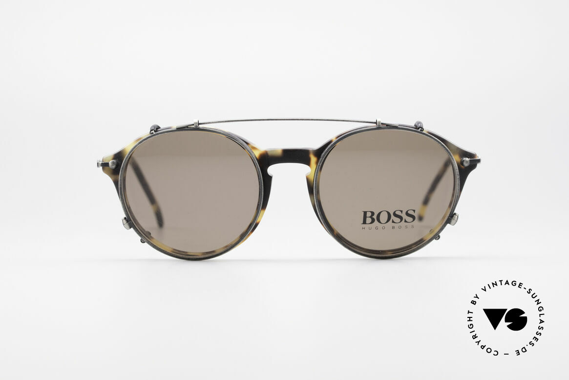BOSS 5192 Sun Clip Panto Frame 1990's, grand original in premium quality from the 1990s, Made for Men