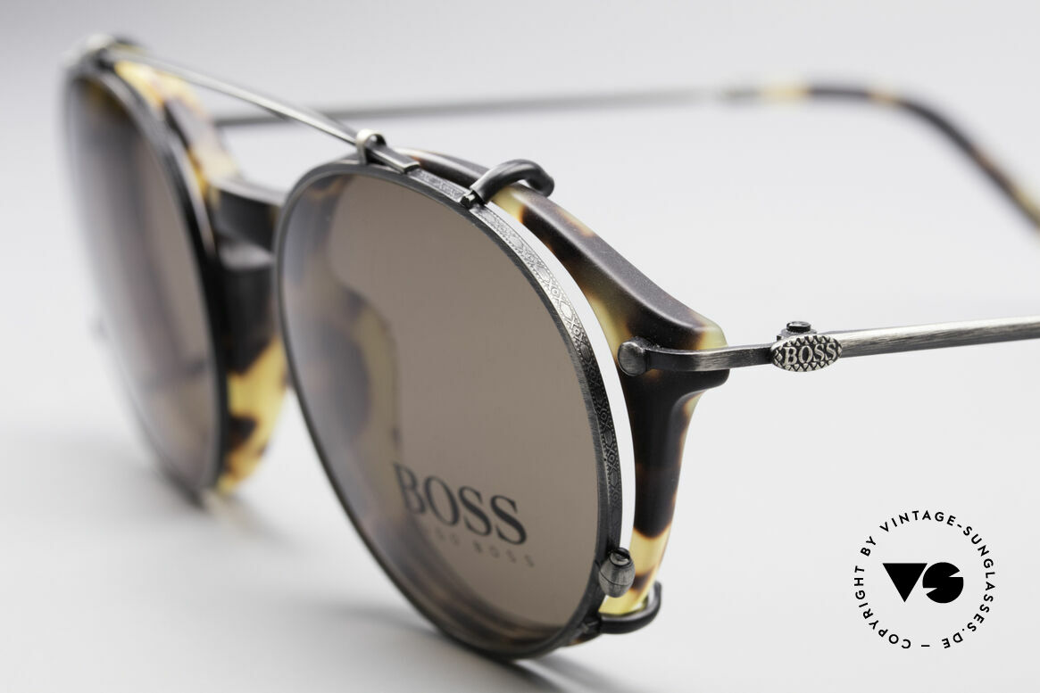 BOSS 5192 Sun Clip Panto Frame 1990's, cooperation between BOSS & Carrera, at that time, Made for Men