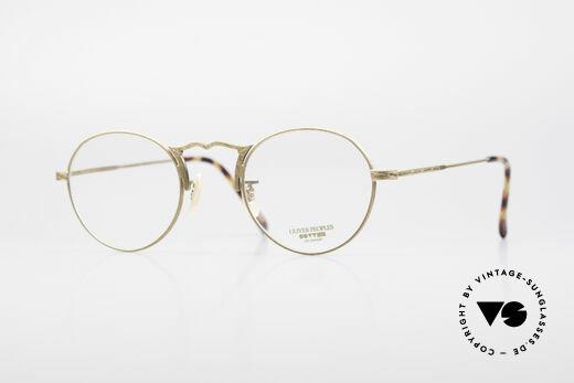 Oliver Peoples OP7G Classy Vintage Eye-Frame Details