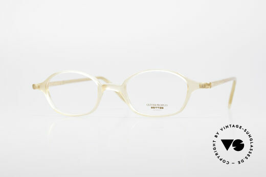 Oliver Peoples OP561 Classic 90's Eyeglass Frame Details
