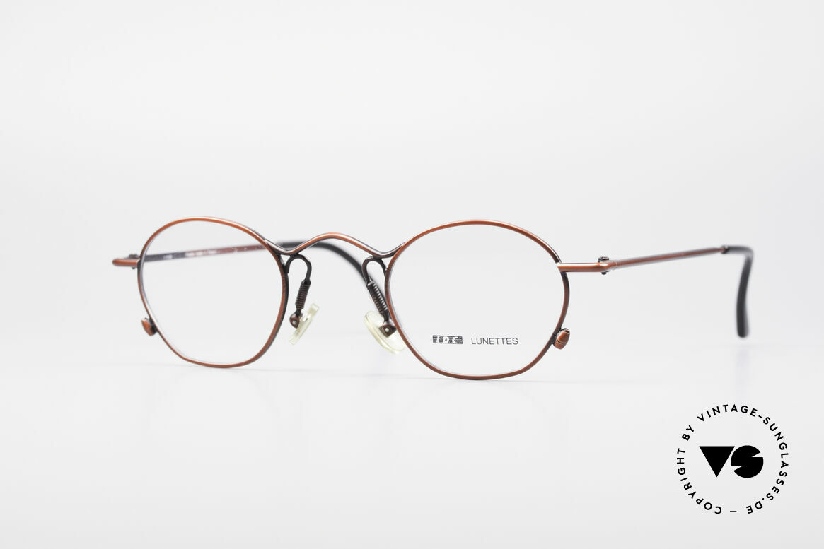 IDC 101 True Vintage No Retro Glasses, distinctive designer eyeglass-frame by IDC, France, Made for Men and Women