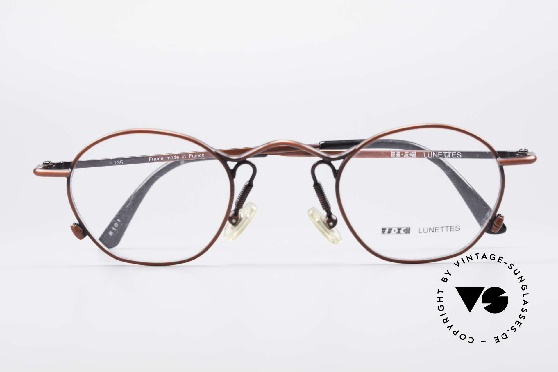 IDC 101 True Vintage No Retro Glasses, Size: small, Made for Men and Women