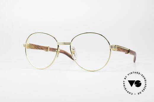 Cartier Bagatelle Bubinga Precious Wood Details