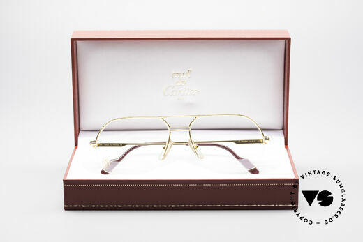 Cartier Orsay Luxury Vintage Eyeglasses, NO retro eyeglasses; an old original from app. 1993!, Made for Men
