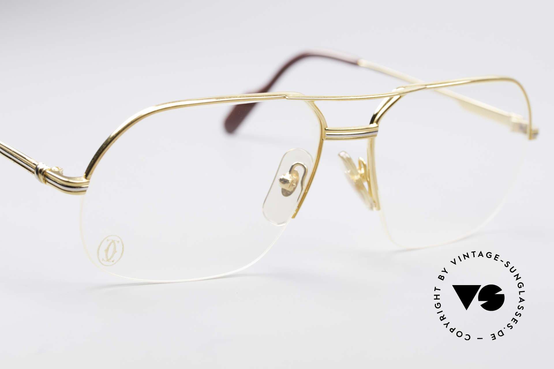 Cartier Orsay Luxury Vintage Eyeglasses, unworn, new old stock (incl. original box by Cartier), Made for Men