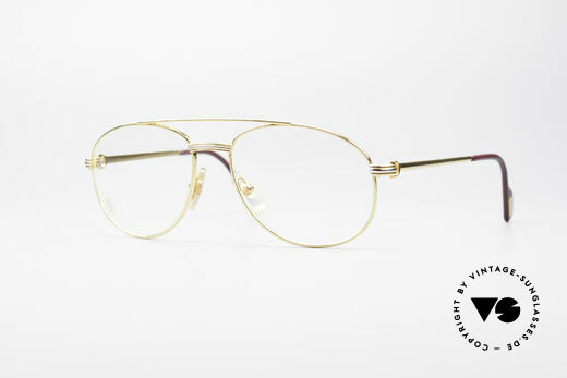 Cartier Driver 90's Luxury Eyeglasses Details