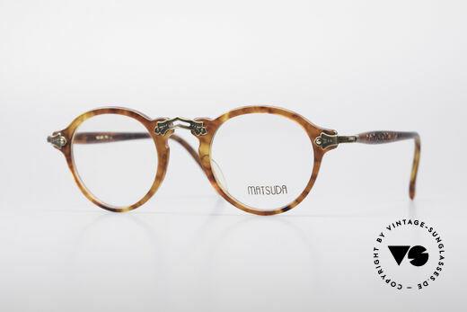 Matsuda 2837 Designer Panto Glasses Details