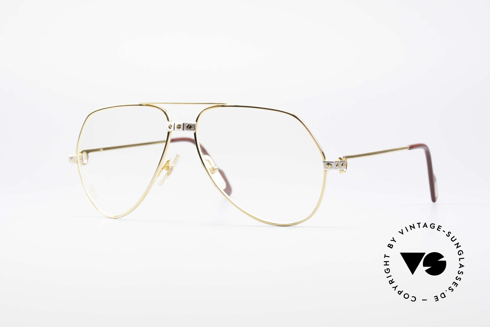 Cartier Vendome Santos - M James Bond Glasses Original, Vendome = the most famous eyewear design by CARTIER, Made for Men