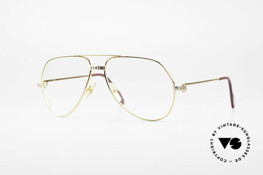 Cartier Vendome Santos - M James Bond Glasses Original Details