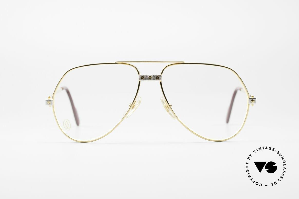 "Cartier Vendome Santos - M James Bond Glasses Original, mod. ""Vendome"" was launched in 1983 & made till 1997, Made for Men"