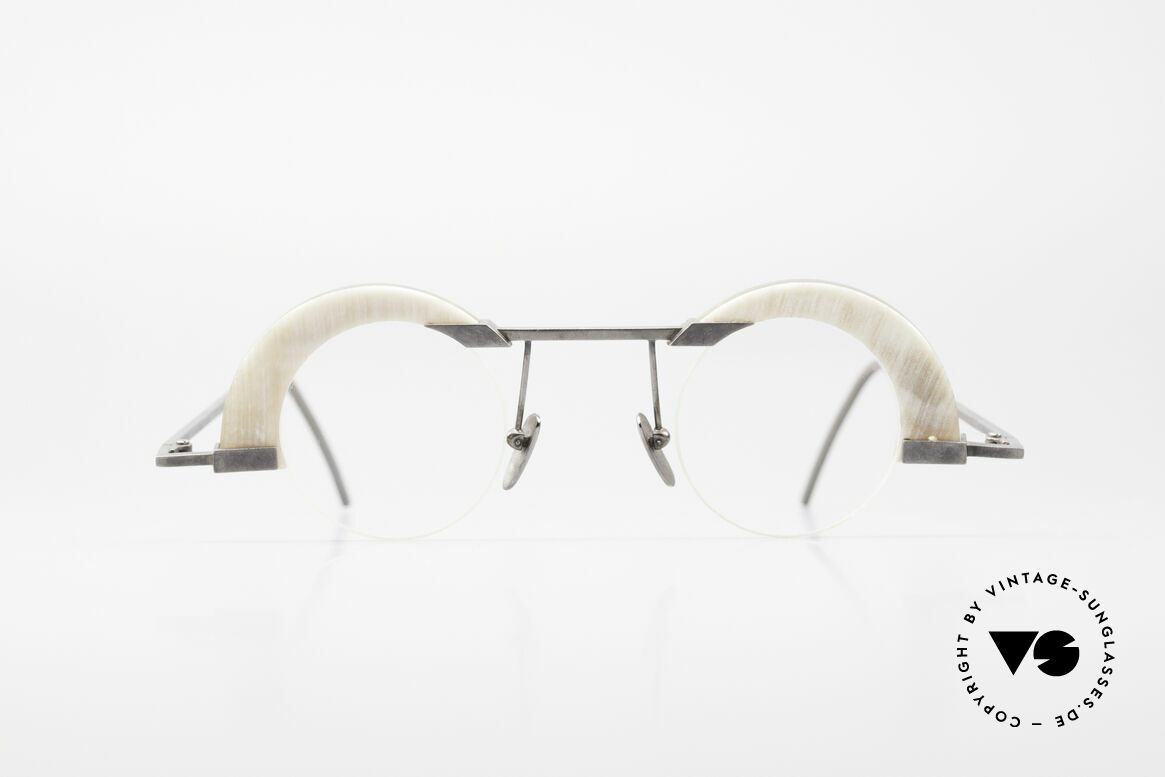 B. Angeletti Schwärmer Genuine Horn Glasses 1994