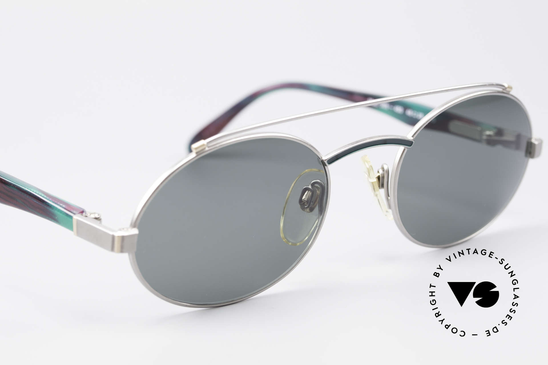 Davidoff 305 Oval Vintage Men's Frame, new old stock (like all our vintage Davidoff sunglasses), Made for Men