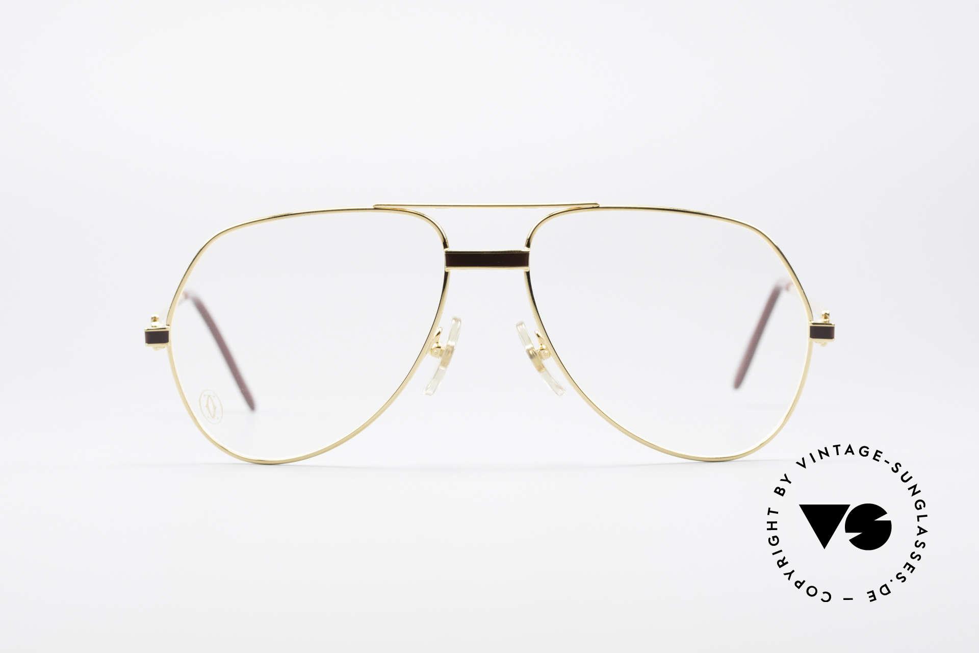 837b2011d0f1c3 Glasses Cartier Vendome Laque - M Luxury Glasses