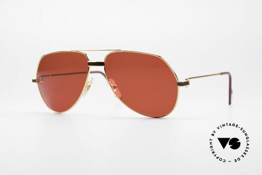 Cartier Vendome Laque - M Luxury Aviator Shades 80'S Details