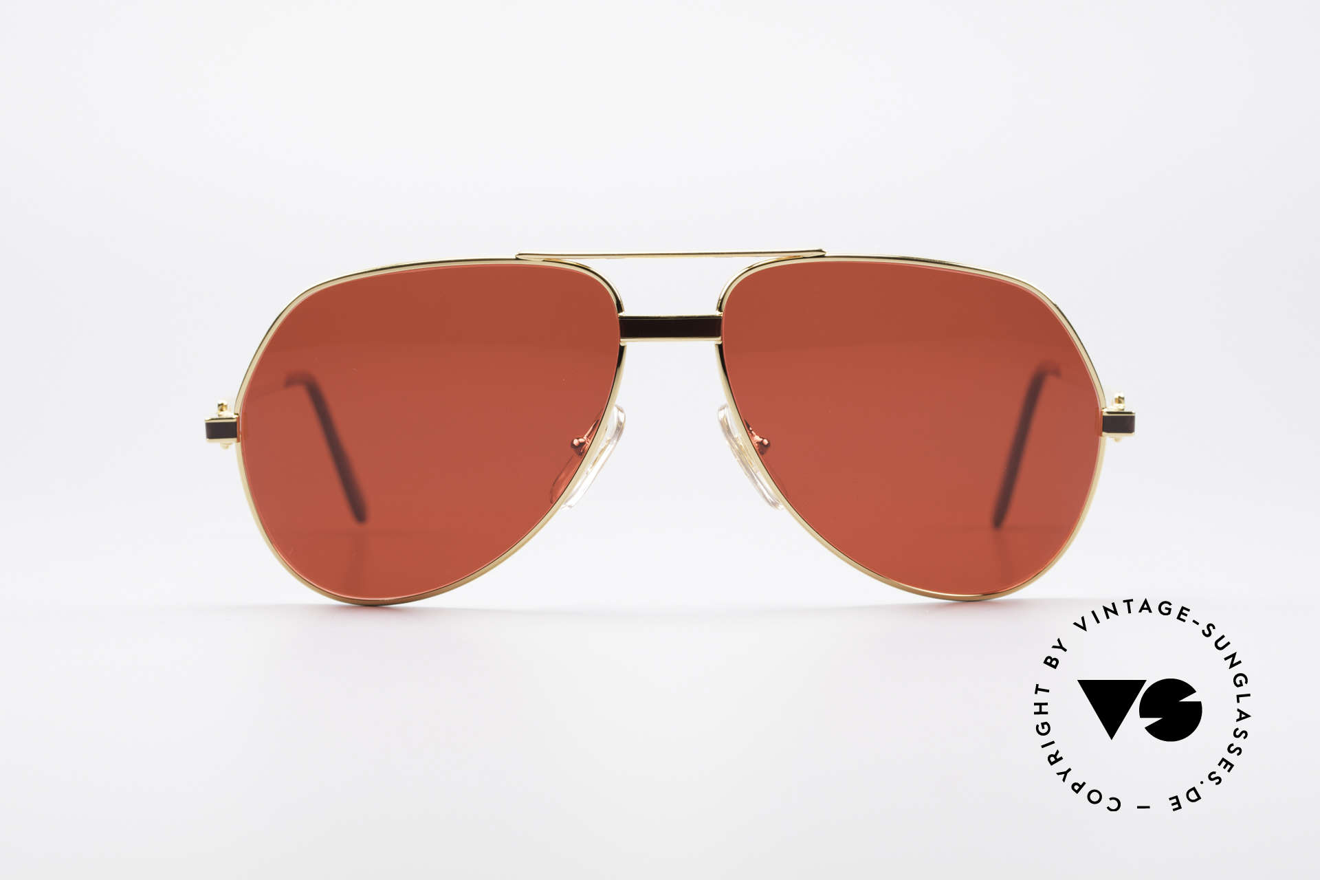 20c8e43a4d8 Sunglasses Cartier Vendome Laque - M Luxury Aviator Shades 80 S ...