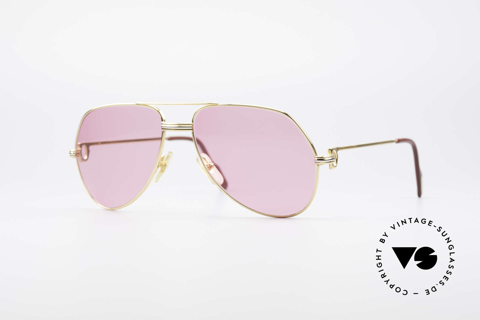 Cartier Vendome LC - M Michael Douglas 80's Shades, Vendome = the most famous eyewear design by CARTIER, Made for Men and Women