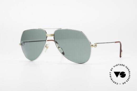 Cartier Vendome LC - L Platinum Finish Details