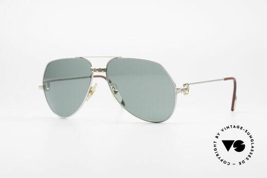 Cartier Vendome Santos - M Rare Luxury Palladium Finish Details