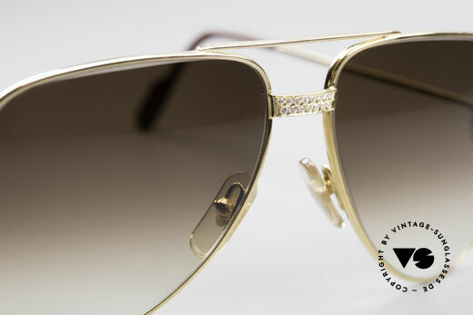 Cartier Grand Pavage Diamond Glasses, a precious, unworn ORIGINAL in LARGE size 62-14, 140!, Made for Men