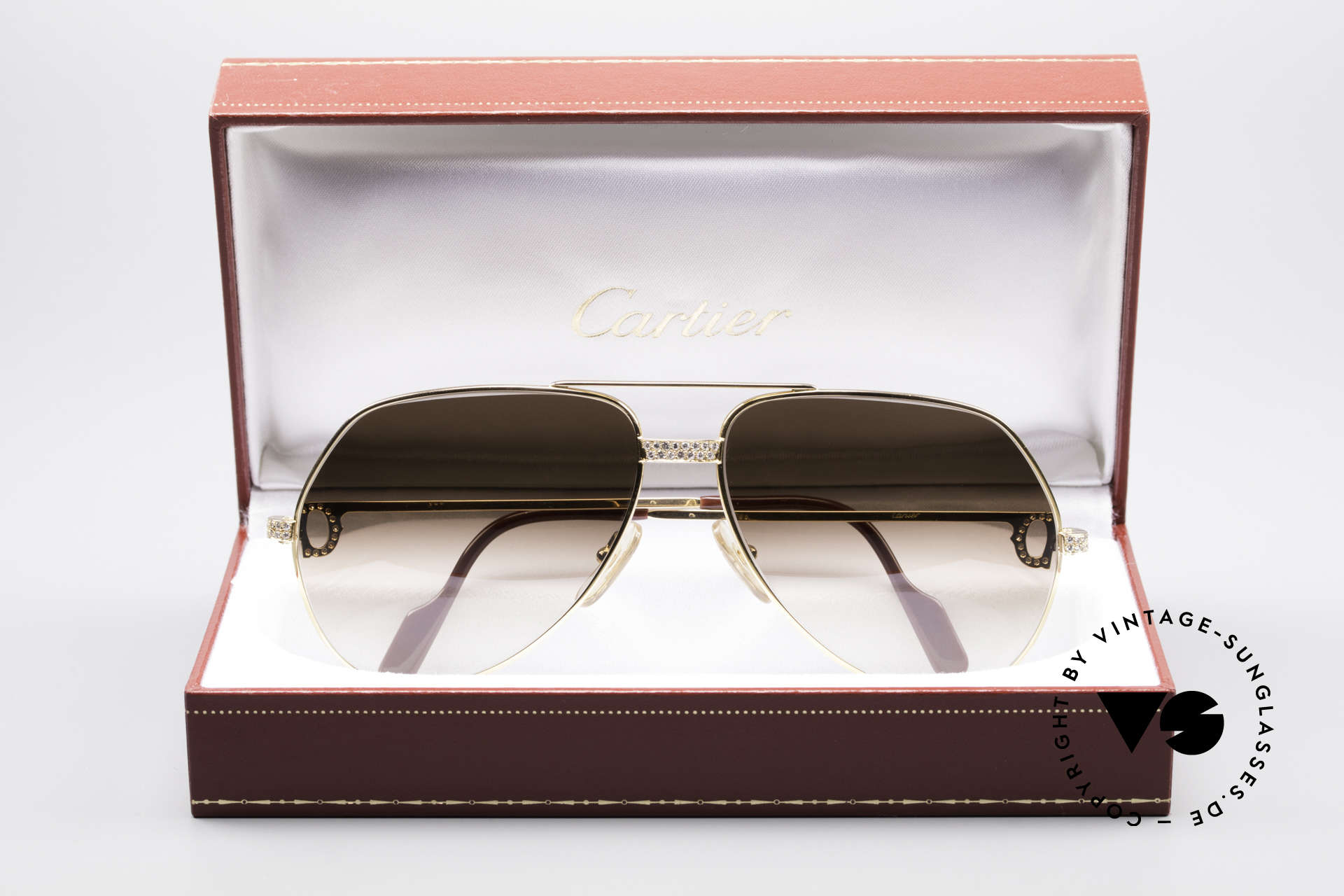 Cartier Grand Pavage Diamond Glasses, Size: large, Made for Men