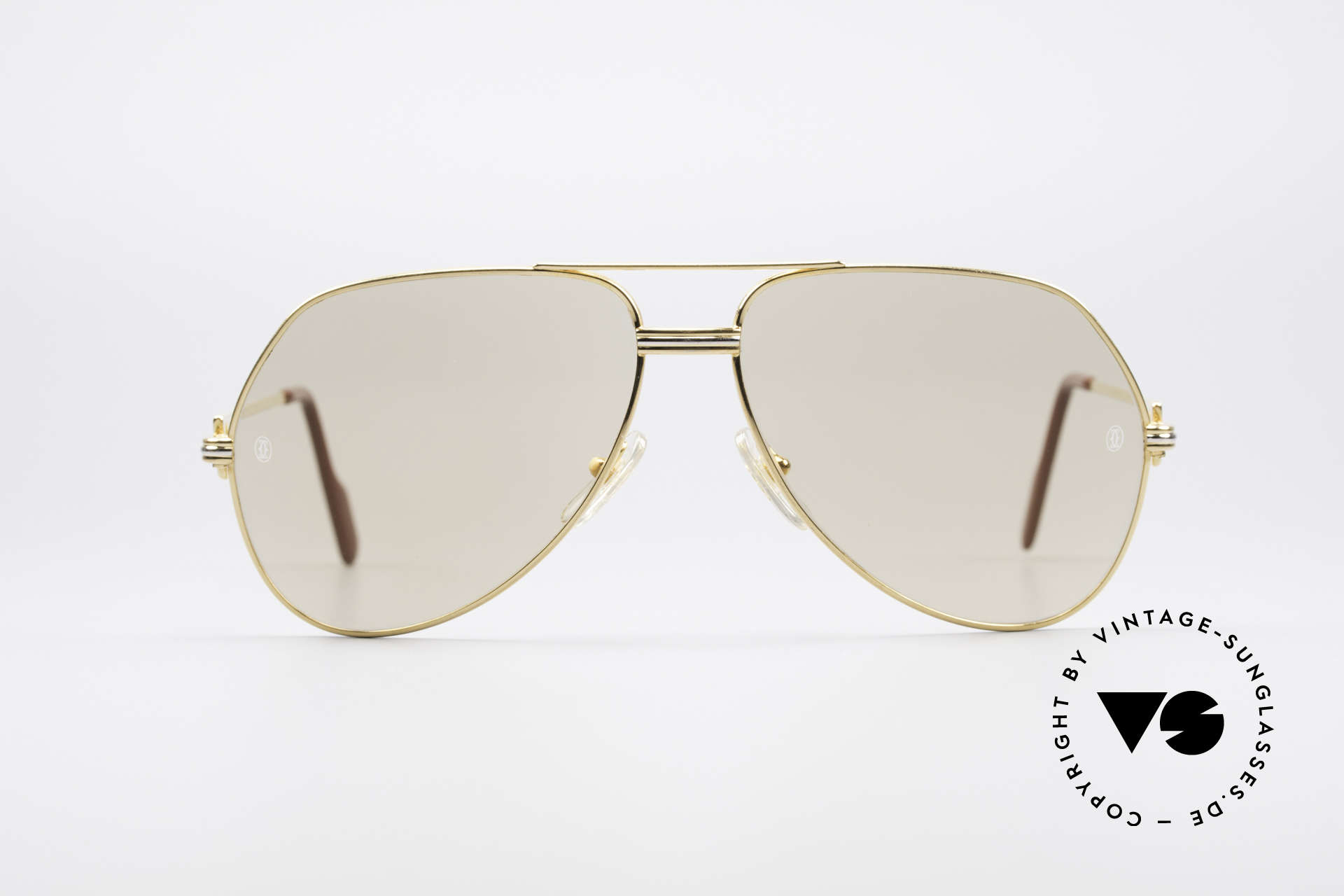"""Cartier Vendome LC - L Mineral Lens With Cartier Logo, mod. """"Vendome"""" was launched in 1983 & made till 1997, Made for Men"""