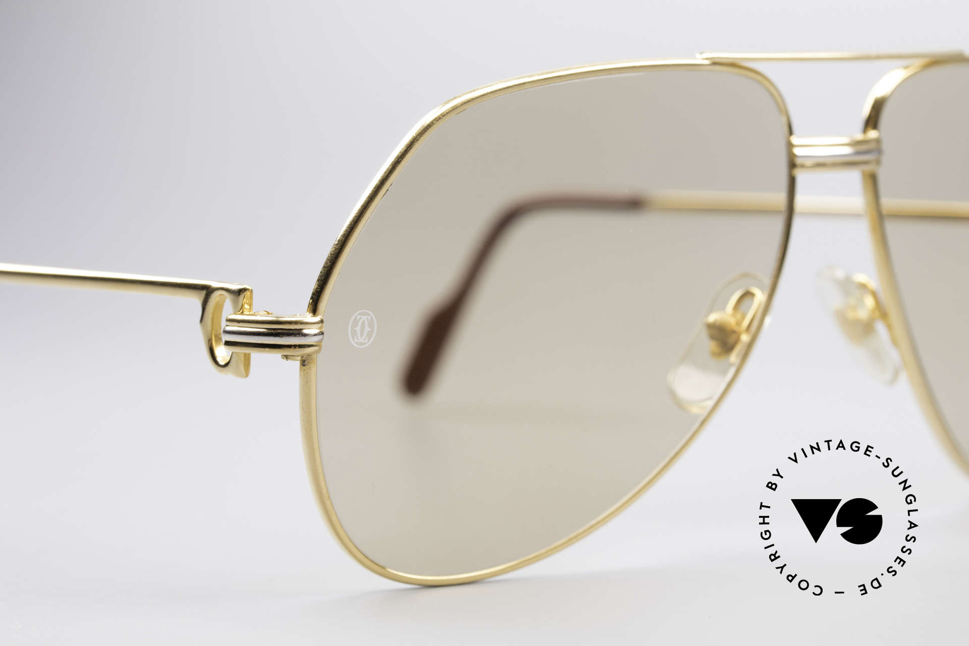 Cartier Vendome LC - L Mineral Lens With Cartier Logo, orig. mineral lenses (100% UV prot.) with Cartier logos, Made for Men