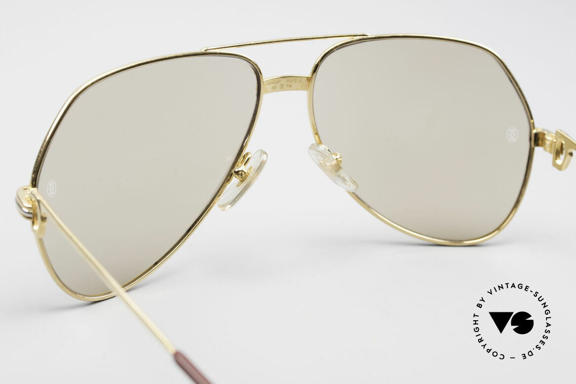 Cartier Vendome LC - L Mineral Lens With Cartier Logo, 2nd hand model; comes with a new orig. case by Cartier, Made for Men