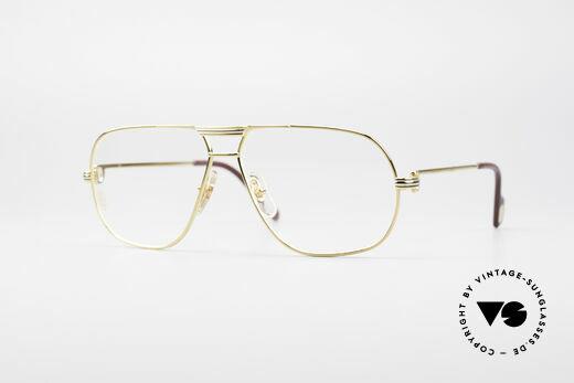 Cartier Tank - M Luxury Designer Eyeglasses Details