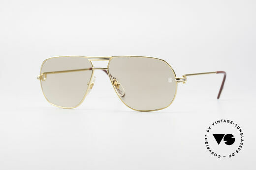 Cartier Tank - M Luxury Designer Sunglasses Details